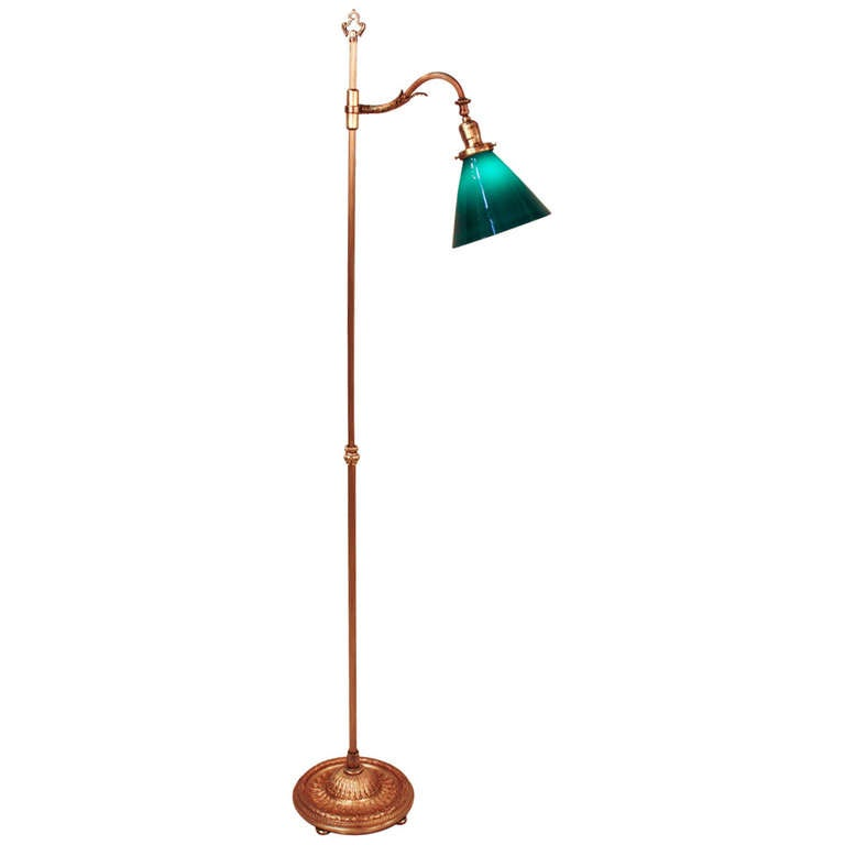 Classic american floor lamp at 1stdibs for American classic lighting