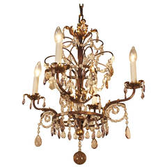 Crystal Chandelier Attributed to Bagues