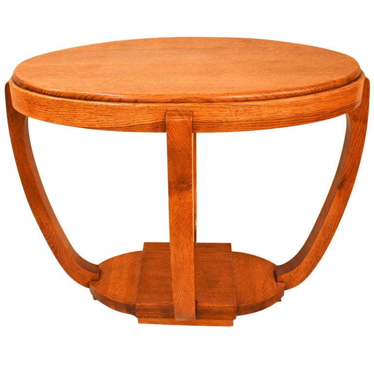 Oval Wood Coffee Table Canada: Wooden Oval Table At 1stdibs