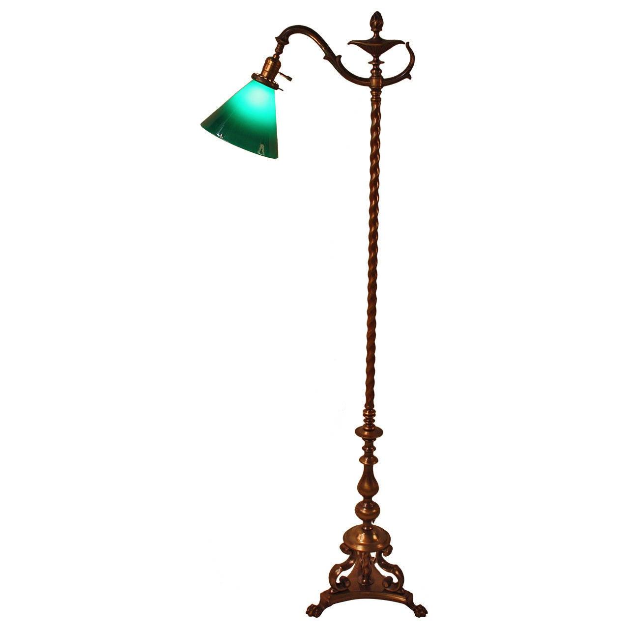 American 1920s floor lamp at 1stdibs for 1920s floor lamps