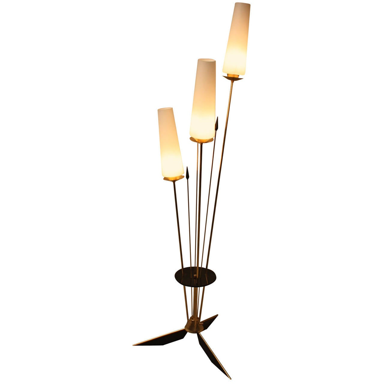 this three light floor lamp by arlus is no longer available. Black Bedroom Furniture Sets. Home Design Ideas