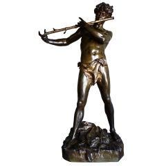 """""""Improvisateur"""" Bronze by Charpentier"""