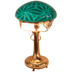 Gorgeous Gold American Table Lamp
