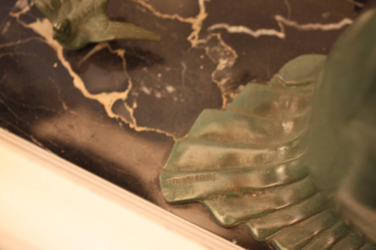 Early 20th Century Art Deco Bronze Sculpture by Zoltan Kovats