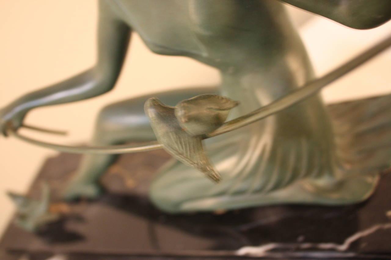 Art Deco Bronze Sculpture by Zoltan Kovats 3