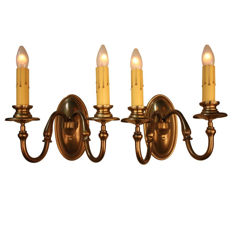 Wall Sconces In Bronze : Bronze Wall Sconces at 1stdibs
