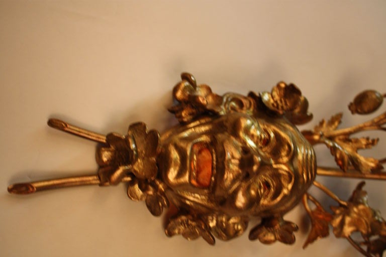French Bronze Wall Sconce 2