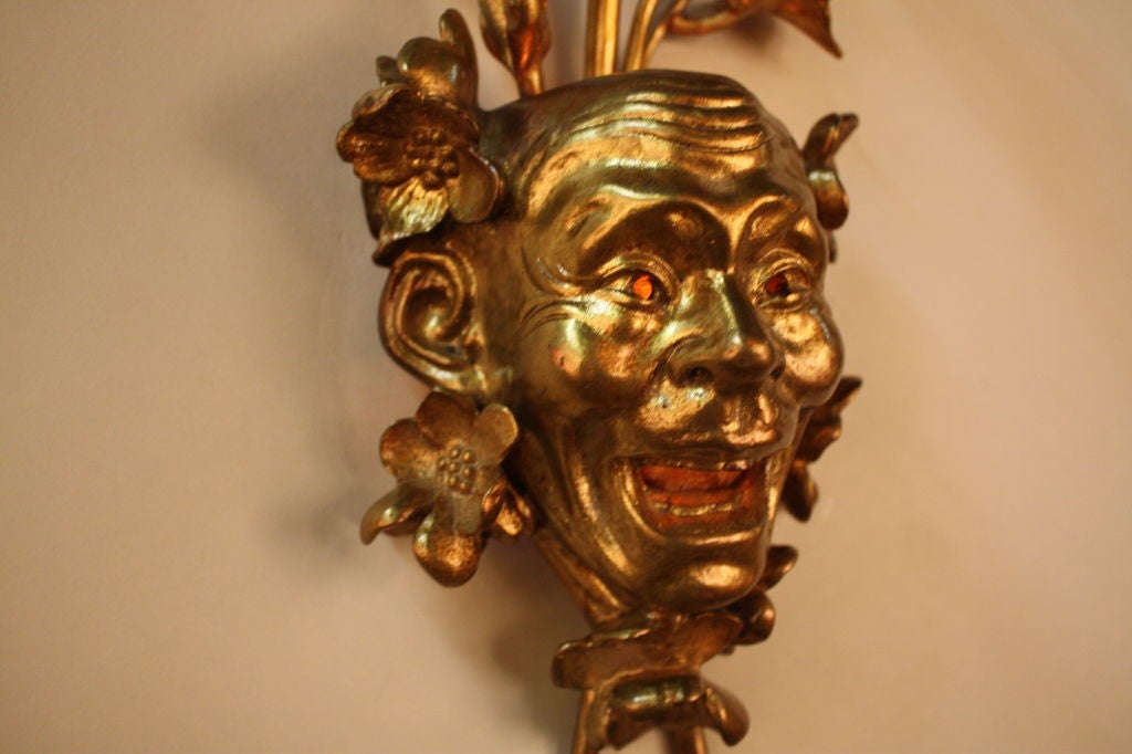 French Bronze Wall Sconce 3