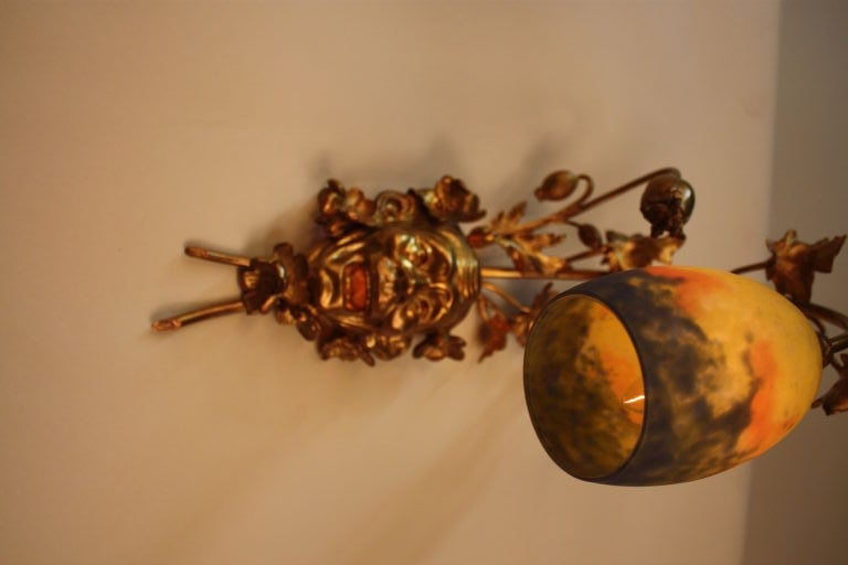 French Bronze Wall Sconce 7