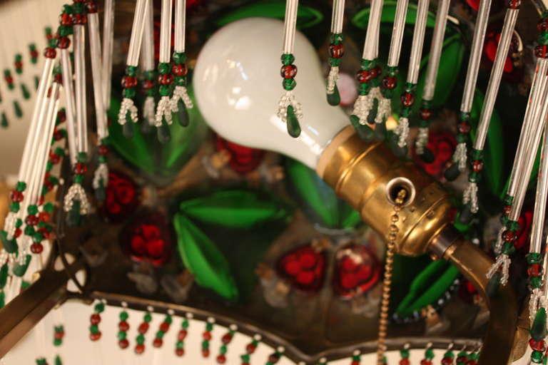 Pair of Austrian Art Nouveau Table Lamps by Geschutzt For Sale 3