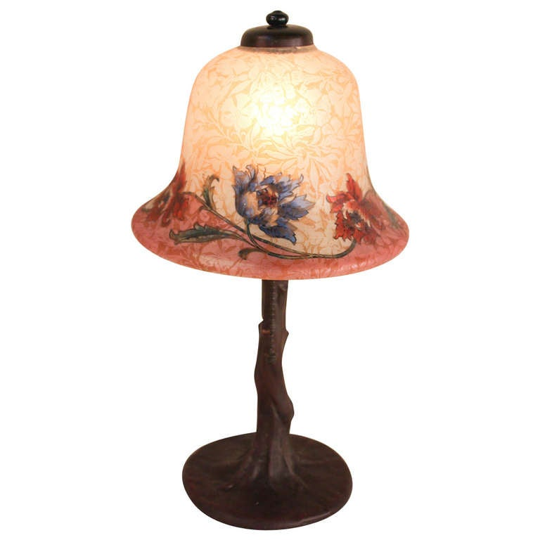 This american art nouveau table lamp is no longer available - Art Nouveau Handel Table Lamp At 1stdibs
