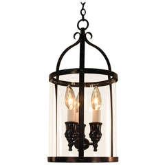 Black Lacquer Hanging Lantern