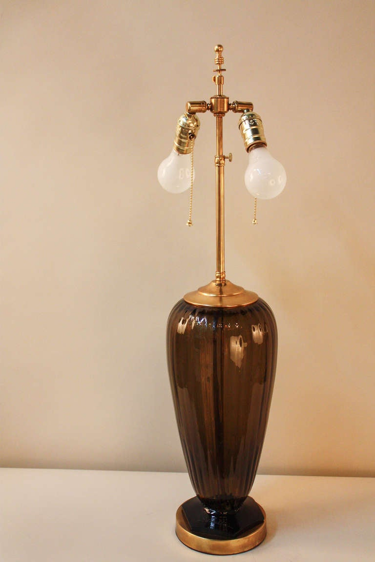 this 1930s blown glass table lamp is no longer available. Black Bedroom Furniture Sets. Home Design Ideas