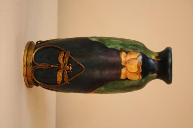 Arts & Crafts Style Pottery Vase 2