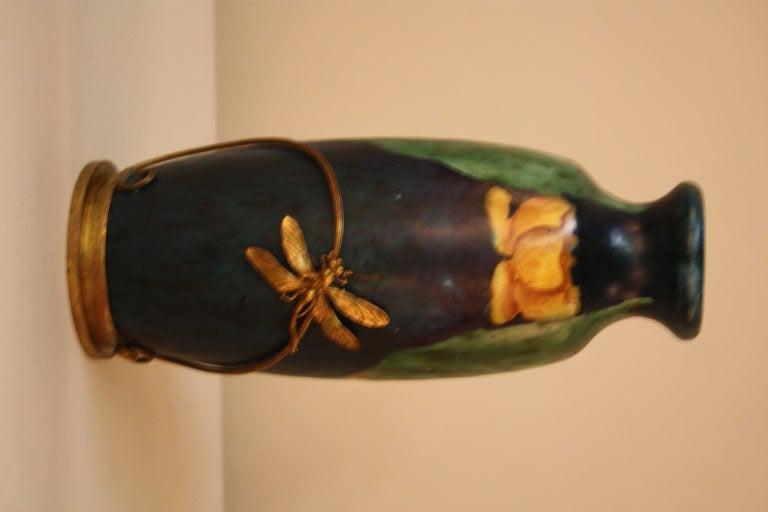 Arts & Crafts Style Pottery Vase 3