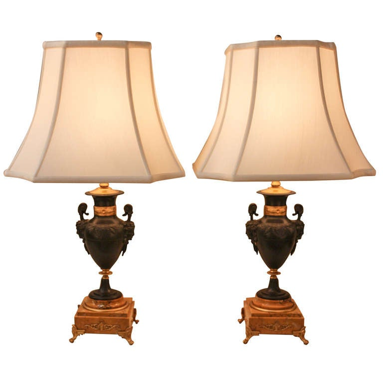 Pair Of Elegant 1930s Table Lamps 1