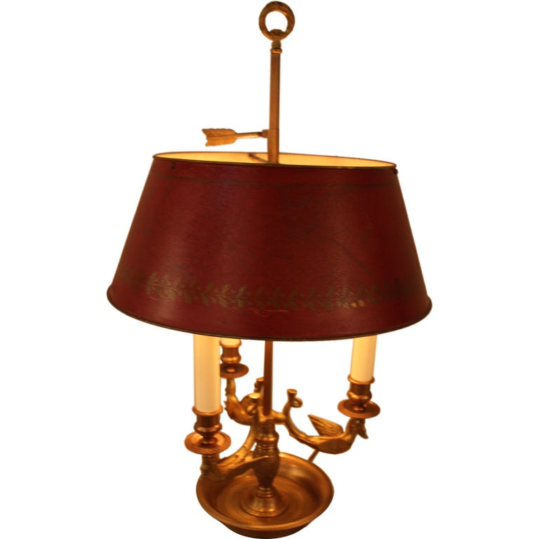 French Bouillotte Lamp For Sale