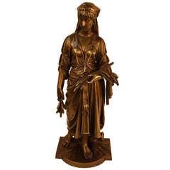 19th c. Bronze Sculpture by Bouret