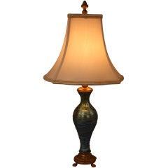 Durand Art Glass Lamp