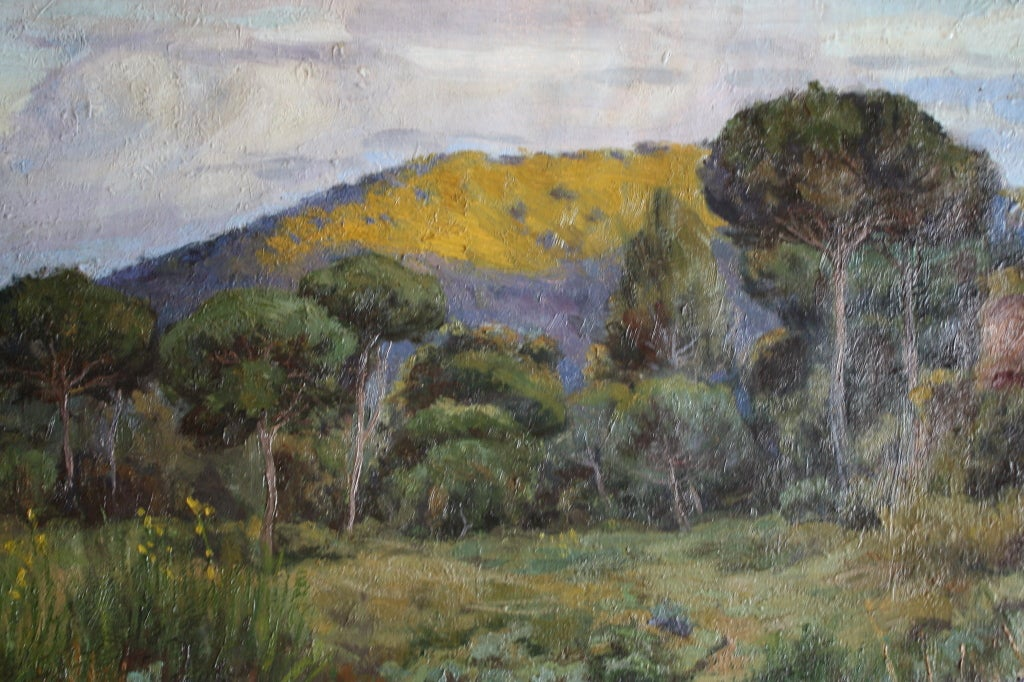 Spanish Landscape Oil Painting At 1stdibs