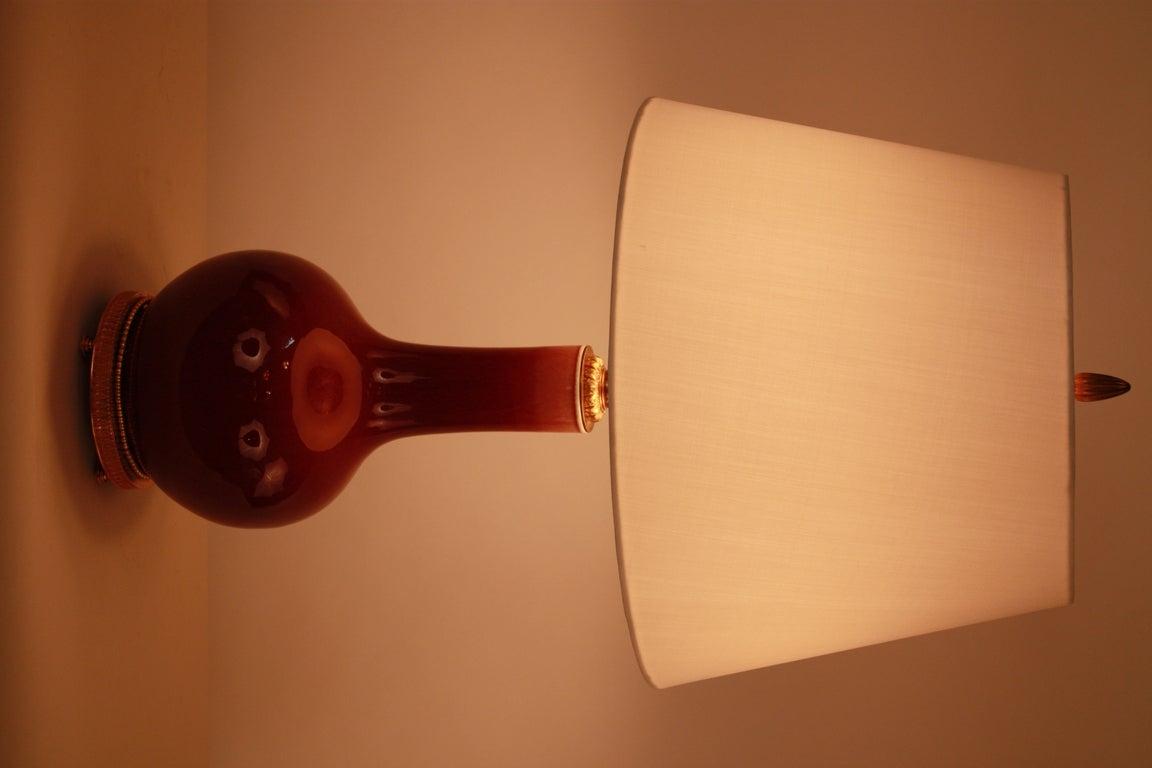 Sang-de-boeuf Table Lamp 2