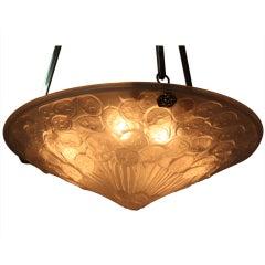 Art Deco Pendant Light By Etling