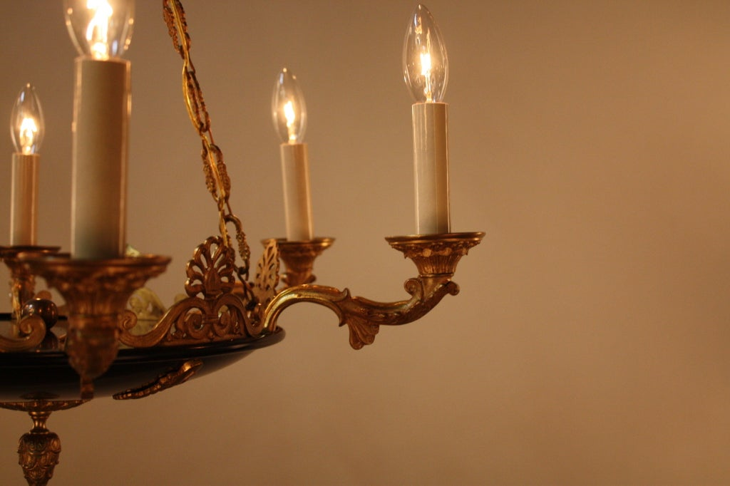 French Empire Style Chandelier At 1stdibs