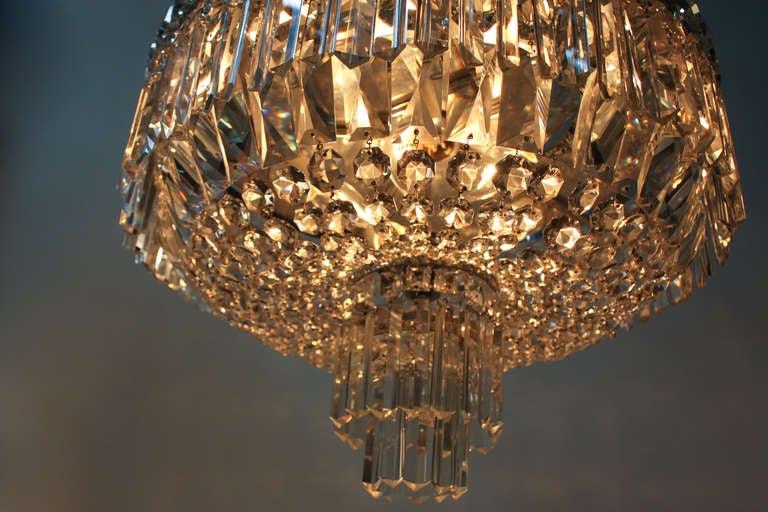 Shop Good Earth Lighting Metropolitan 3 Light Bronze: Crystal Flush Mount Ceiling Light At 1stdibs