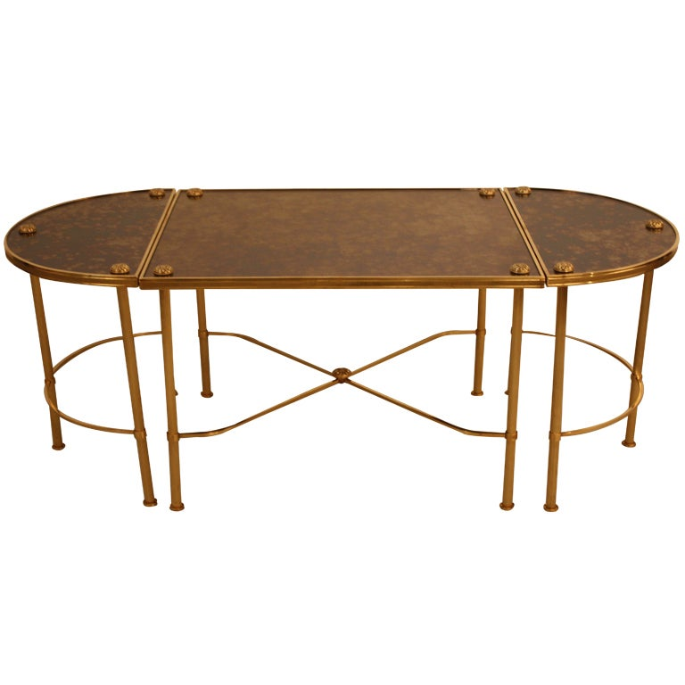 Italian bronze coffee table at 1stdibs Bronze coffee tables