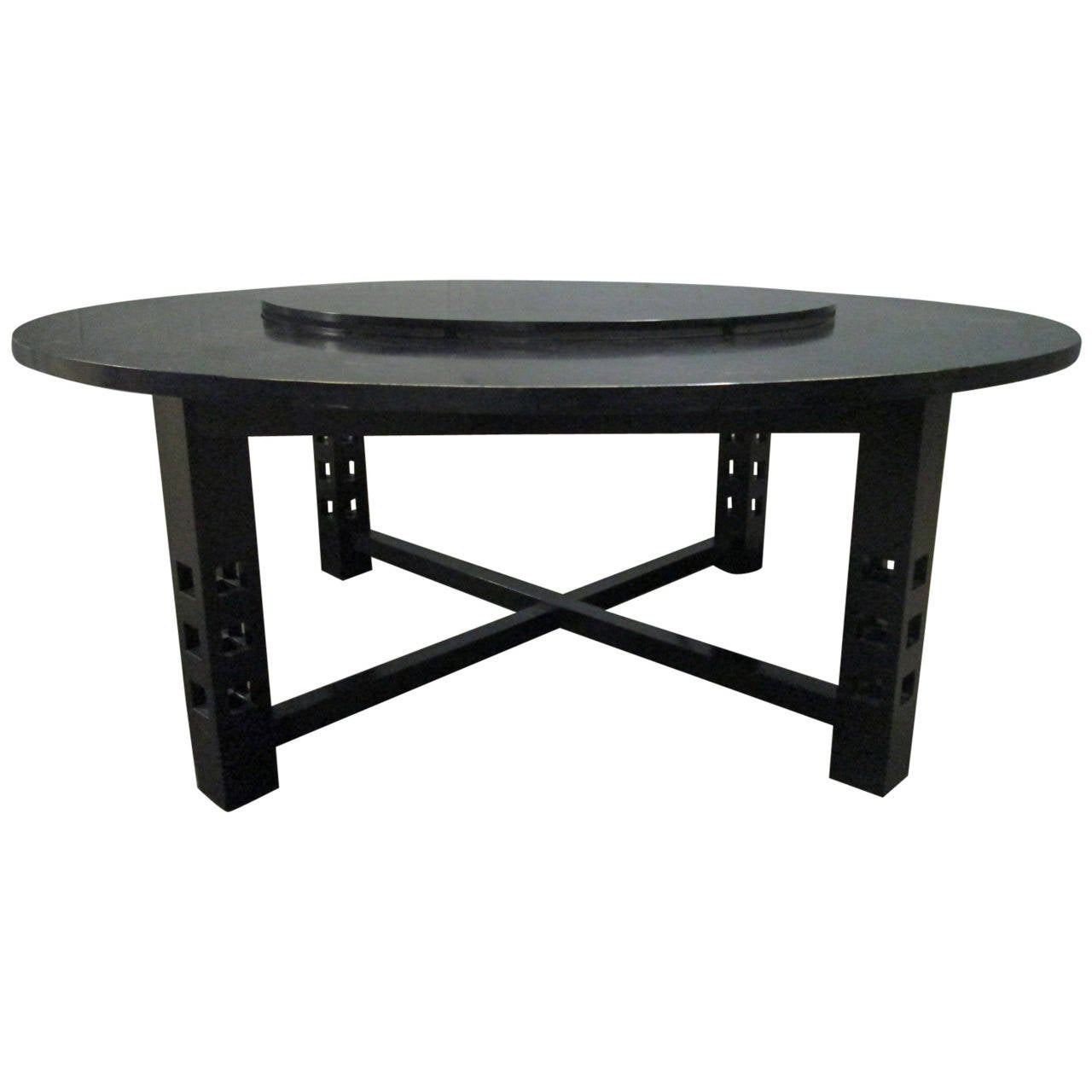 Large Dining Table by Charles Rennie Mackintosh at 1stdibs : 1603532l from www.1stdibs.com size 1280 x 1280 jpeg 60kB