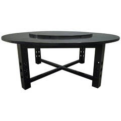 Large Dining Table by Charles Rennie Mackintosh