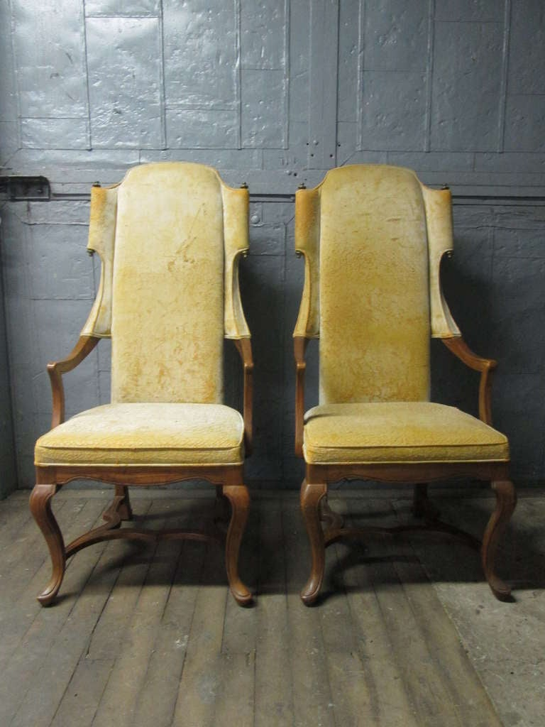 fresh image of tall wingback chair