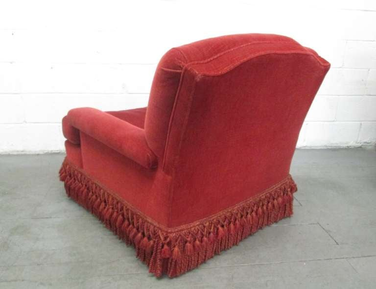 Pair of French Art Deco Club Chairs with Mohair Upholstery 6