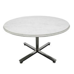 Nico Zographos Marble Top Table Coffee Table