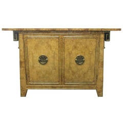 Asian Style Cabinet By Mastercraft