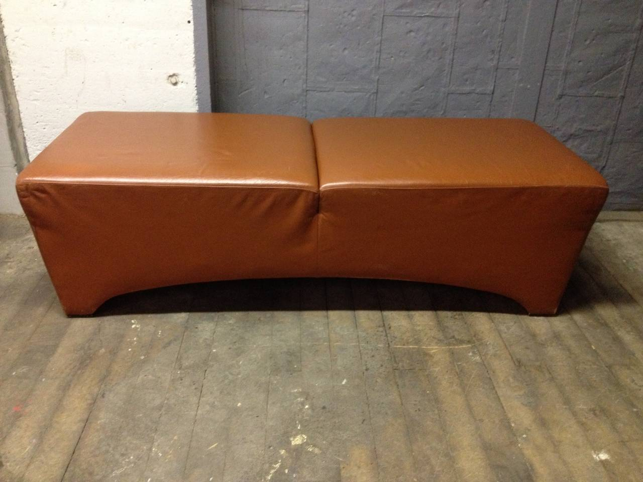 Leather Bench By Dakota Jackson For Sale At 1stdibs