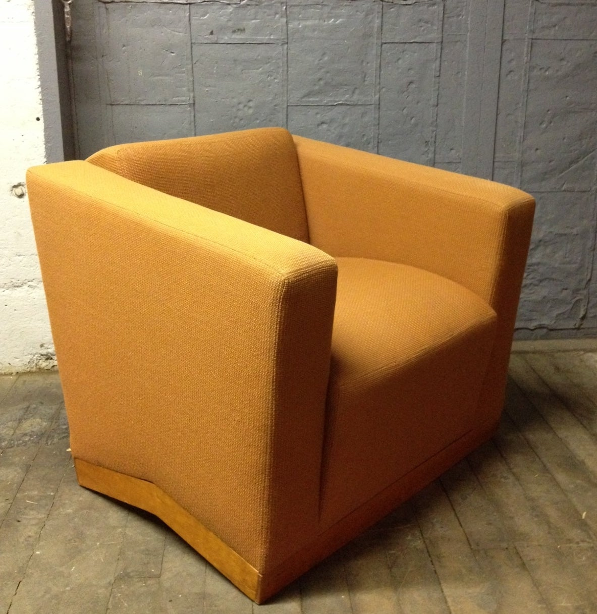 Pair Of Dakota Jackson Lounge Chairs And Ottoman For Sale At 1stdibs