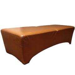 Leather Bench by Dakota Jackson