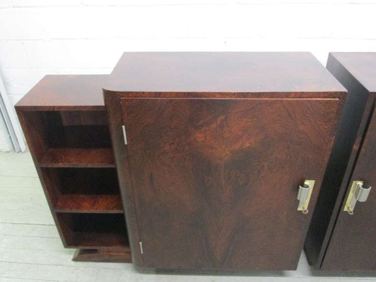 Mid-20th Century French Art Deco Rosewood Sideboard  For Sale