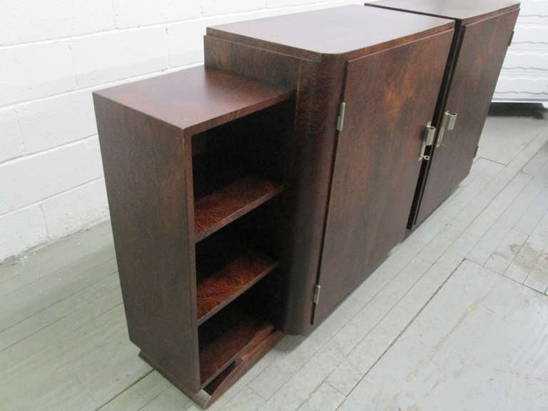 French Art Deco Rosewood Sideboard  In Good Condition For Sale In New York, NY