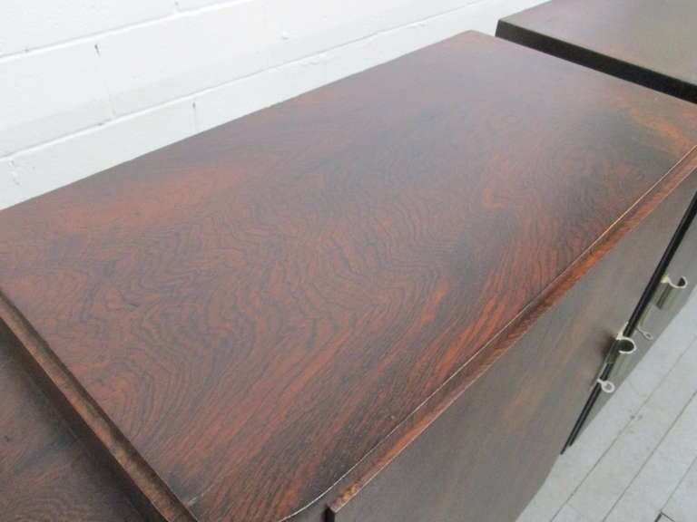 French Art Deco Rosewood Sideboard  For Sale 1