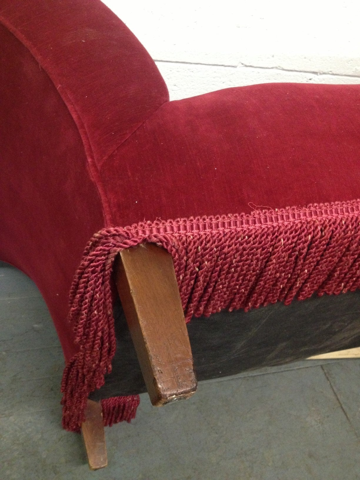 Two french art deco chaise longues at 1stdibs for Art deco chaise longue