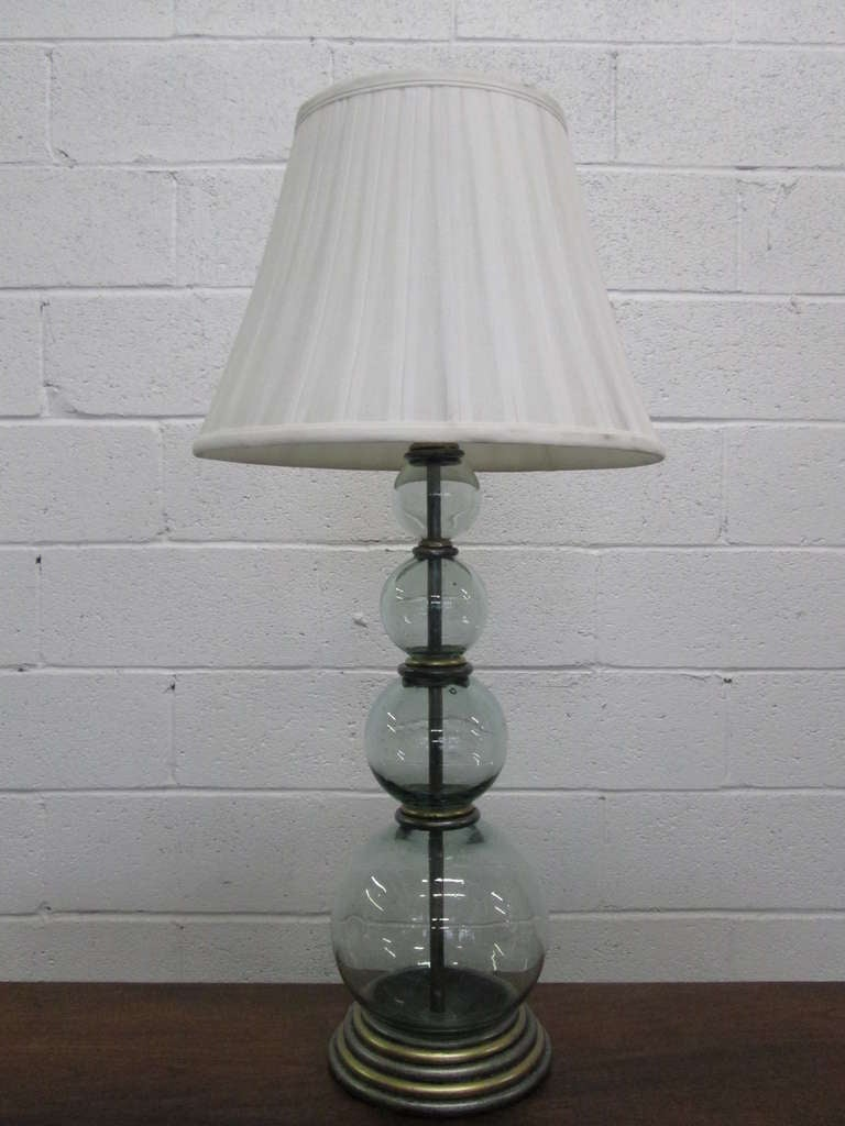 this pair hand blown glass table lamps is no longer available. Black Bedroom Furniture Sets. Home Design Ideas