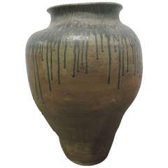 Paul Chaleff Large-Scale Stoneware Planter
