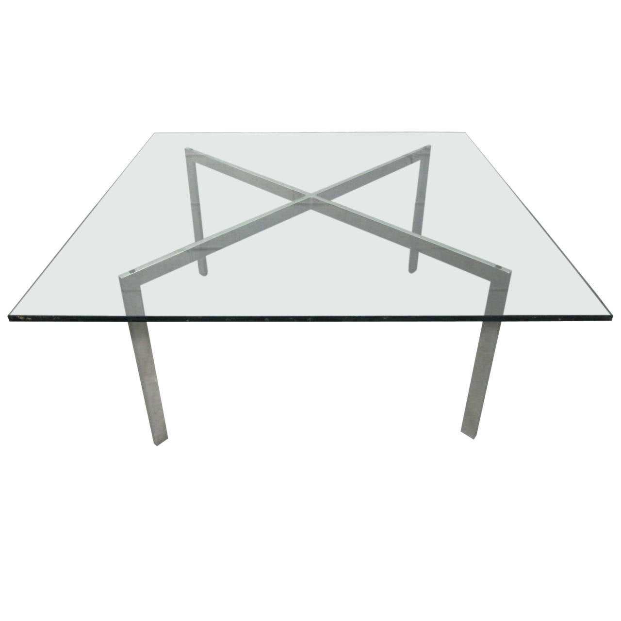 barcelona table base by mies van der rohe for knoll for. Black Bedroom Furniture Sets. Home Design Ideas