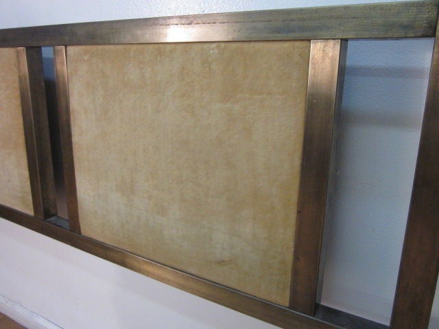 Mastercraft Brass Headboard