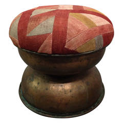 Hammered Copper Stool