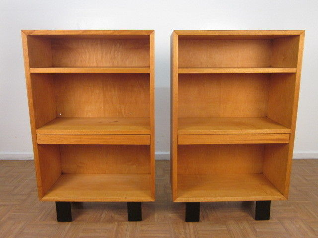 Pair George Nelson For Herman Miller Bookcases