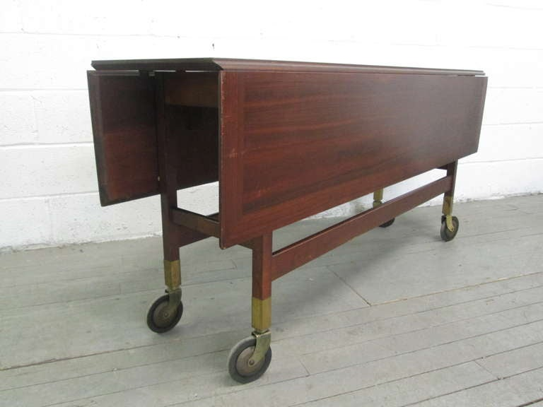 unique danish drop leaf table for sale at 1stdibs