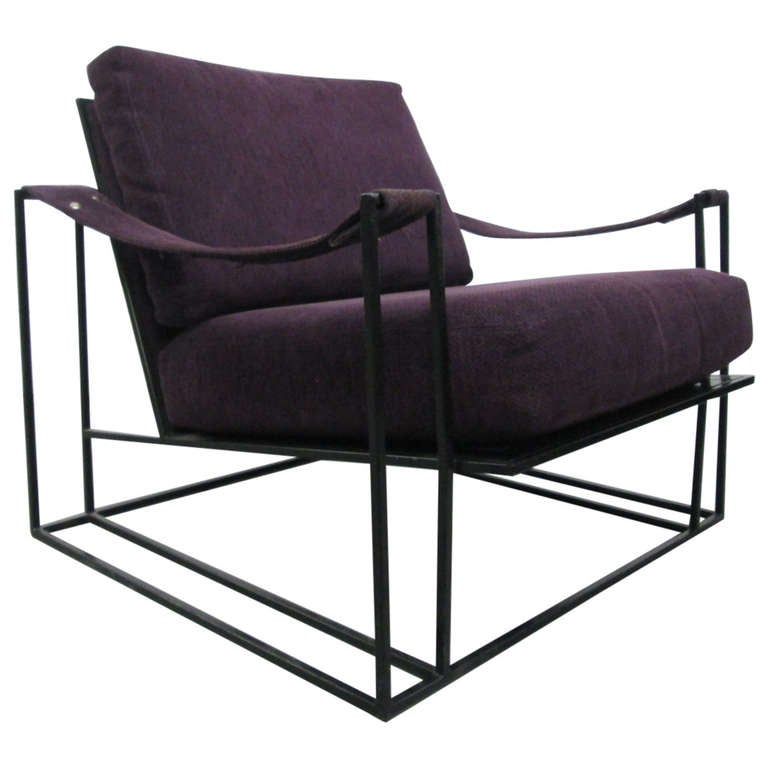 Milo Baughman for Thayer Coggin Lounge Chair at 1stdibs